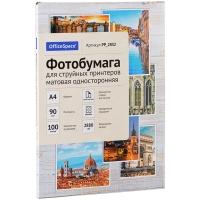 Фотобумага А4 для стр. принтеров OfficeSpace, 90г/м2 (100л) мат.одн.
