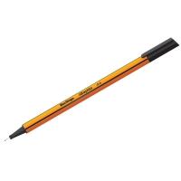 """Ручка капиллярная Berlingo """"Rapido"""" черная, 0,4мм, трехгранная"""