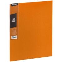 """Папка на 4 кольцах Berlingo """"Color Zone"""", 35мм, 600мкм, оранжевая"""