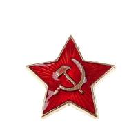 Значок звезда 2,5см с застежкой как на обычном значке