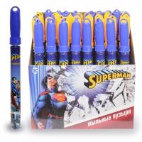 Мыл. пузыри  Superman колба 60мл 1toy