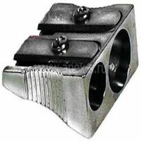 Точилка EK, двойная, без накопителя, Ferro Plus металлическая