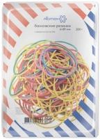 Резинка для денег 200гр. 60мм цветные,70% натурал.каучук