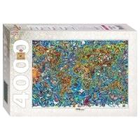 Пазл 4000 Карта мира