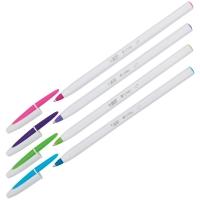 """Ручка шариковая Bic """"Cristal Up"""" ассорти, 1,2мм"""