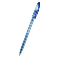 Ручка шариковая Cello Slimo, 1.0мм, тонированный/синий корпус, колпачек с клипом, стержень синий (305 089020) (Cello)