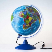 Глобус с подсв. d=210 ГЛОБЕН Классик Евро политический