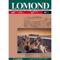 Бумага для фотопечати матовая А4, 050 листов, 230г/м2 (Lom-IJ-0102016) (Lomond)