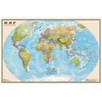 """Карта """"Мир"""" политическая 1:25млн. (1,36*0,89)"""