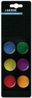 Набор магнитов д/доски deVENTE 6шт. 30мм 6021301 карт./блист.,асс.