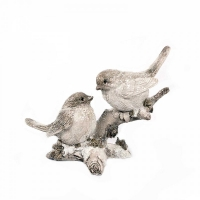 Птички на веточке 13X6.5X10.5см