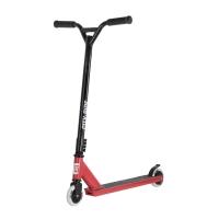 Трюковый самокат City-Ride, красный, колеса пластик 100