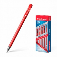 Ручка гелевая EK G-SOFT  красный 0,38мм