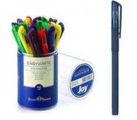 Ручка масл. шар. BV Easy Write Joy  0,5мм,синяя,5цв.корп.