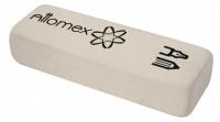 Ластик ATTOMEX 4070321 белый, синт.каучук, пласт.уп.
