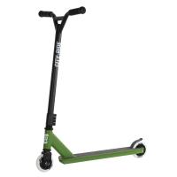 Трюковый самокат City-Ride ,   колеса PU, пластик диск 100 мм., вилка резьб., хомут 4б., цвет зеленый