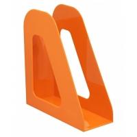 """Лоток для бумаг вертикальный Стамм """"Фаворит"""", оранжевый Mandarin"""