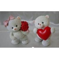 Мишки с сердцем 8.2*8.3*12.2 см