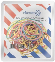 Резинка для денег  50гр. 60мм ATTOMEX цветные,70% натурал.каучук