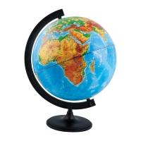 Глобус физический Глобусный мир, 32см, на круглой подставке