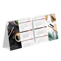 """Календарь-домик настольный 190*170мм,  """"Mono Premium. Офис"""", 2022г."""