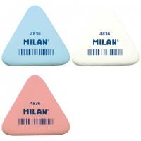 Ластик MILAN  треугольный, каучук 50*44*7мм