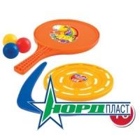 Набор игровой №70  Пинг понг, бумеранг, тарелка летающая