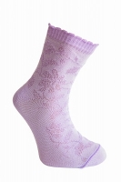 Носки детские артикул 111 цвет белый для девочек (18 размер)