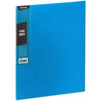 """Папка на 4 кольцах Berlingo """"Color Zone"""", 35мм, 600мкм, синяя"""