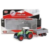 Модель  Трактор с прицепом Технопарк в кор
