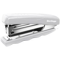 """Степлер №10 Berlingo """"Comfort"""" до 16л., пластиковый корпус, серый"""