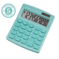 Калькулятор настольный Citizen , 10 разр., двойное питание, 127*105*21мм, бирюзовый