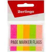 Флажки-закладки , 50*12мм, бумажные, 50л*5 неоновых цветов, европодвес