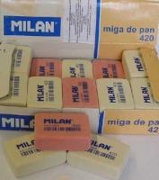 Ластик MILAN 420 д/чернографит. карандашей и чернил