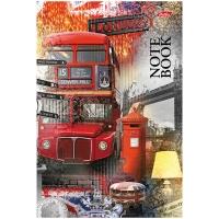 """Бизнес-блокнот А5 96л. Hatber """"Мечты о Лондоне """", 4-х цветный тонированный блок"""