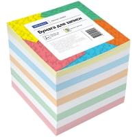 Блок для записи OfficeSpace, 9*9*9см, цветной