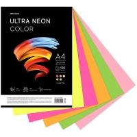 """Бумага цветная  """"Ultra Neon Color"""", A4, 75 г/м², 100л., (5 цветов)"""