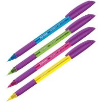 "Ручка шариковая  ""Triangle 110 Color"" синяя, 0,7мм, грип, корпус ассорти"