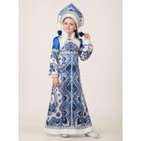 Карн. кост Снегурочка Варвара р 116-60 /текстиль/Пуговка/