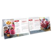 """Календарь-домик настольный 200*130мм, """"Mono. Sweet dessert"""", 2022г."""