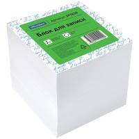 Блок для записи OfficeSpace, 8*8*8см, белый