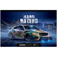 """Альбом для рисования 40л., А4, на скрепке ArtSpace """"Авто. Hard racing"""""""