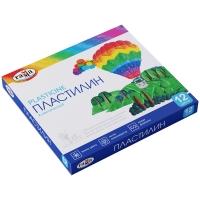 """Пластилин Гамма """"Классический"""", 12 цветов, 240г, со стеком, картон. упак."""