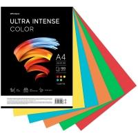 """Бумага цветная OfficeSpace """"Ultra Intense Color"""", A4, 80 г/м², 100л., (5 цветов)"""