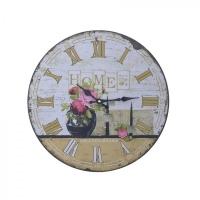Часы настенные декоративные, L34 W2 H34 см, (1хАА не прилаг.)