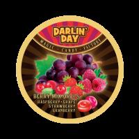"""Карамель леденцовая """"DARLIN DAY""""  со вкусом: малины,винограда,клубники,клюквы. 180гр"""
