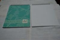 """Блокнот А5, 080л, спираль, """"Nature design"""", обложка картонная,  офсет 60г/м2, клетка (БиДжи)"""