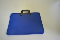 Папка-портфель  2 отд. deVENTE А4 3075400 пласт.,с текстильным кантом, ассорти