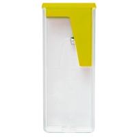 Точилка пластиковая Faber-Castell, 1 отверстие, контейнер, без ш/к, ассорти