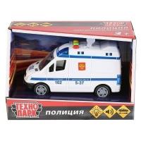 Модель  Микроавтобус полиция Технопарк  в кор.